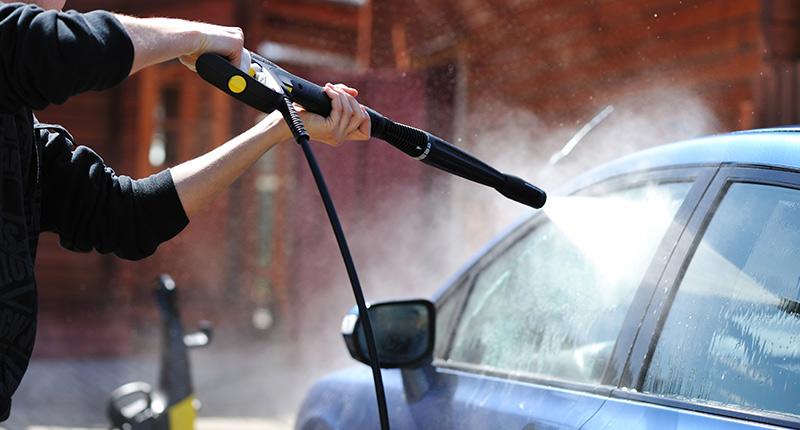 Tvätta bil