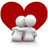Dejtingsajt - Kärleksfullt par