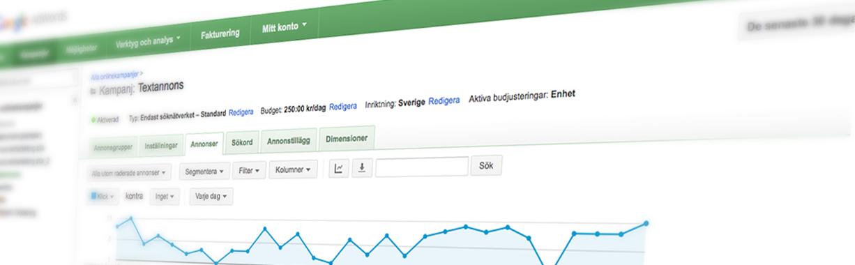Googleannonsering-Teveo
