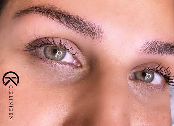 c-kliniken 3d tatuering ögonbryn