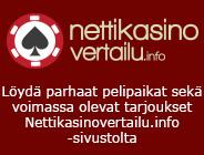 Löydä parhaat pelipaikat sekä voimassa olevat tarjoukset Nettikasinovertailu.info -sivustolta