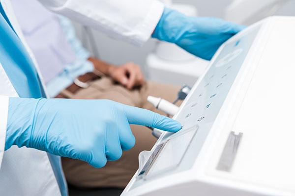 utrustning inom akuttandvården