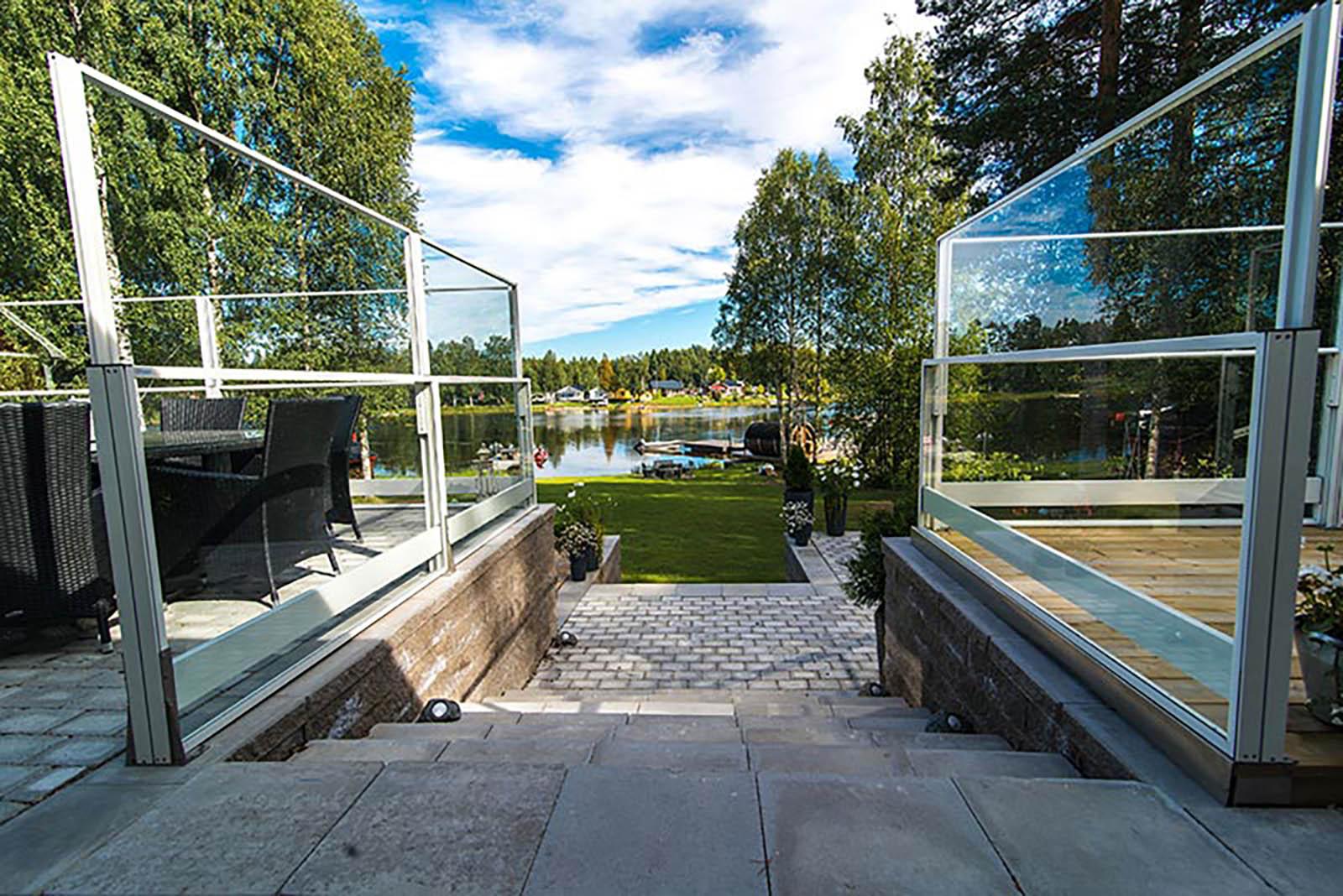 Markis Stockholm. Inglasad altan.