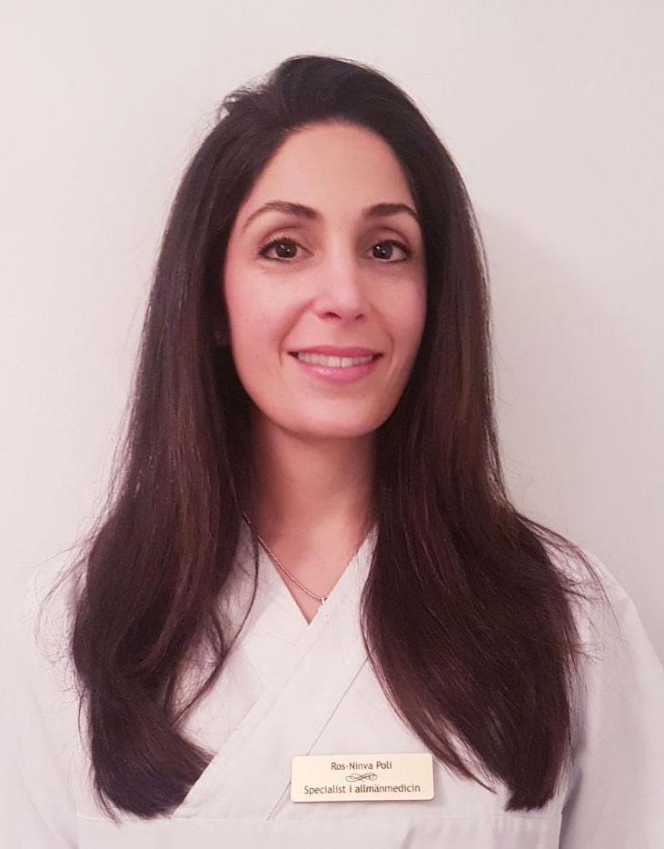 Ros-Ninva Poli - legitimerad läkare och specialist i allmänmedicin - ansiktslyft stockholm