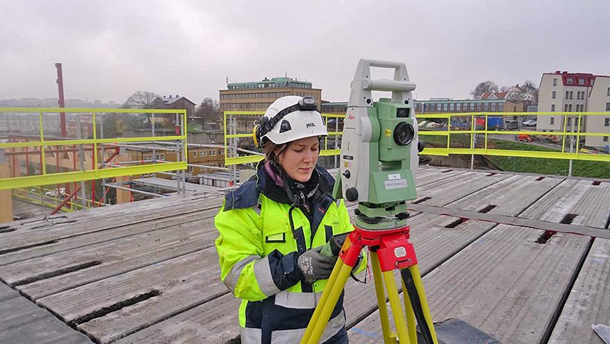 Experter på areamätning i Västra Götaland.