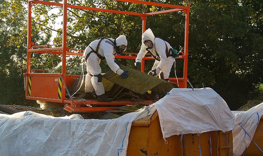Asbestsanering i Dalarna.