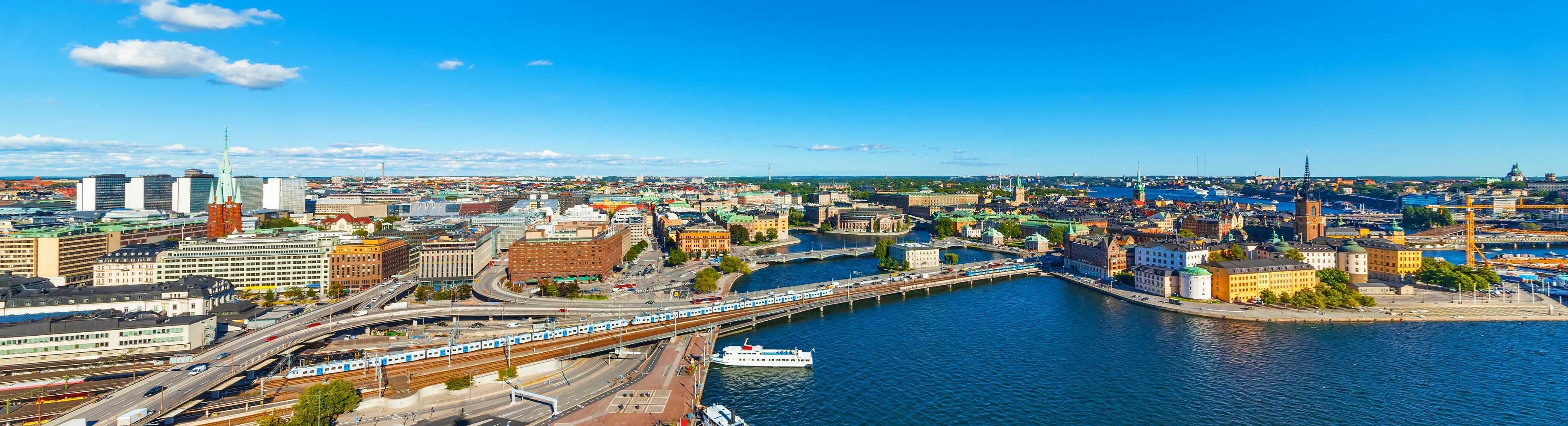Vi asfalterar i Stockholm