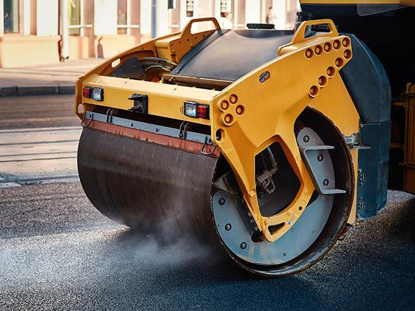 asfalt vält