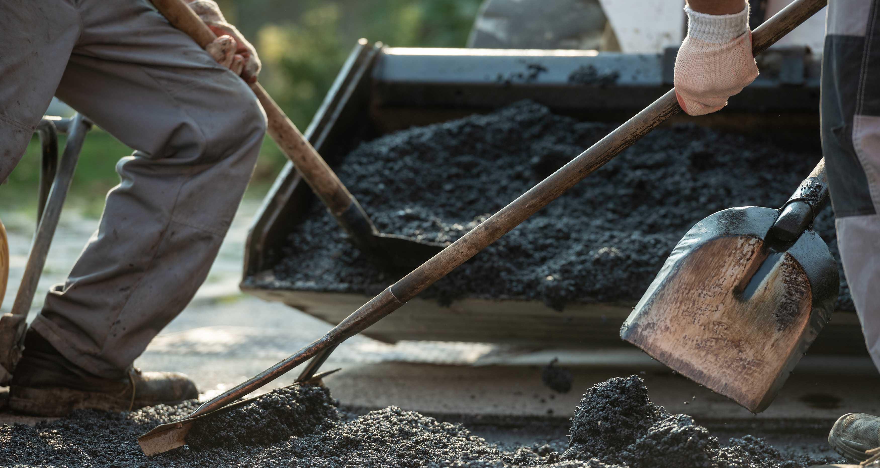 Vi arbetar med asfalt i stockholm