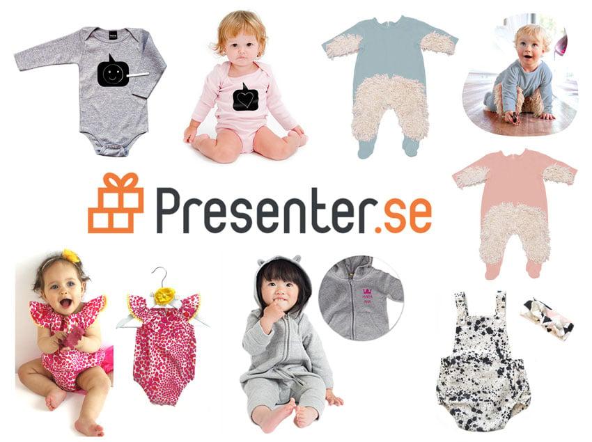 Annorlunda roliga babykläder