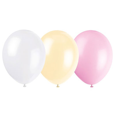 Ballonger i tre matchande färger