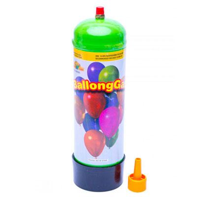 Liten tub med helium