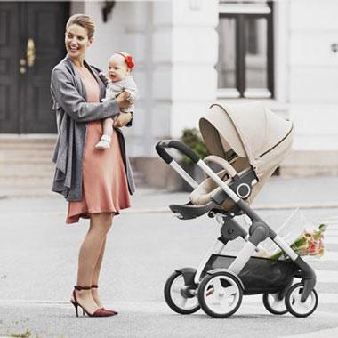 Köpa barnvagn i present