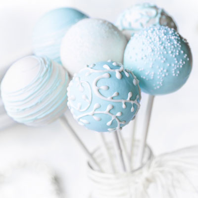 Cake Pops till baby shower