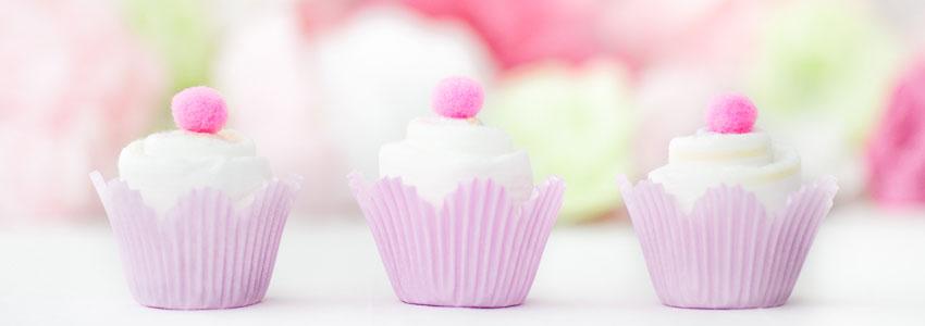 Cupcakes av blöjor