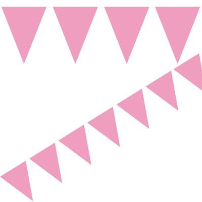 Rosa flaggirlang