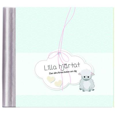 Söt fyll-i-bok för nyfödd