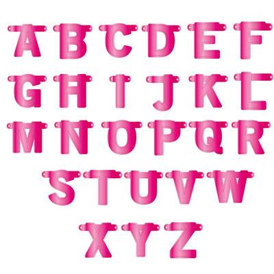 Girlang av bokstäver