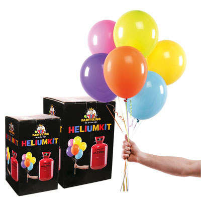 Helium för latexballonger
