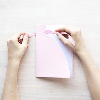 Beskrivning på DIY gratulationskort