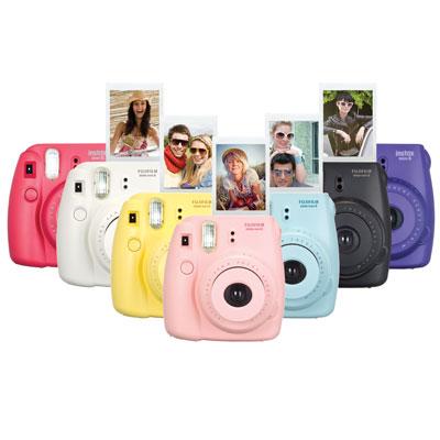 Rolig polaroidkamera till gästboken
