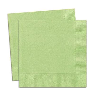 Ljusgröna servetter