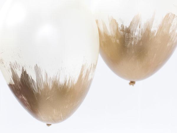 Måla på ballonger