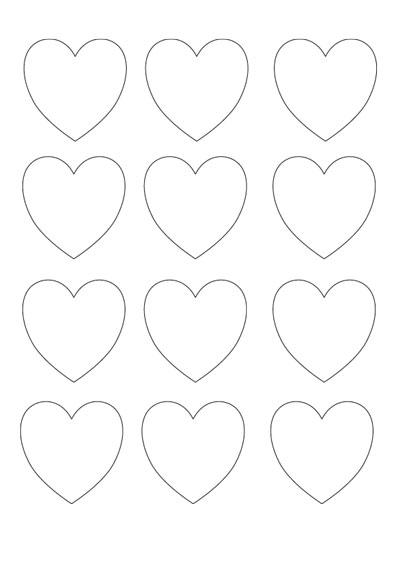 Mall med hjärtan