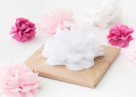 Paket med blomma