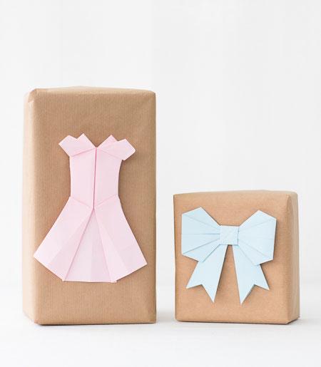 Paket med origami