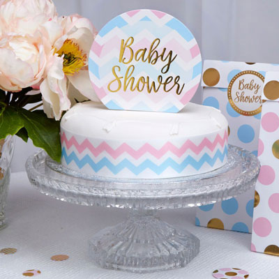 Tårtdekoration till baby shower