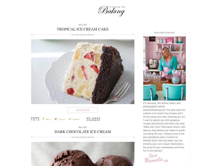 Tips på tårtor och sötsaker