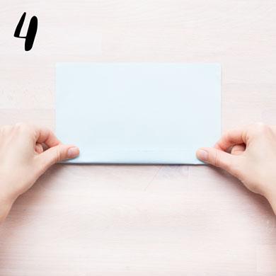 Girlang av veckat papper - steg 4