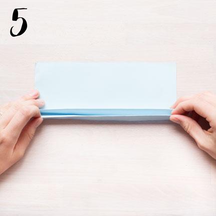 Girlang av veckat papper - steg 5