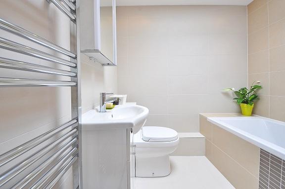 Nyrenoverat badrum i Göteborg