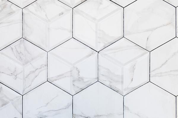 marmor hexagoner
