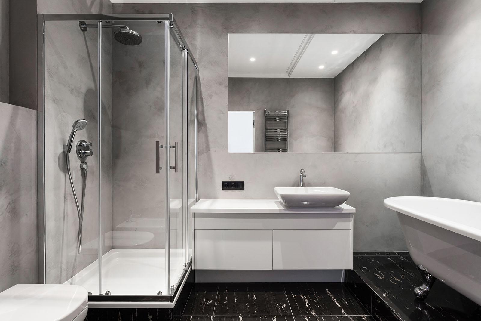 Natursten är ett populärt material vid badrumsrenovering i Linköping! Natursten kan användas som både stengolv, bänkskivor och annan steninredning i badrummet.