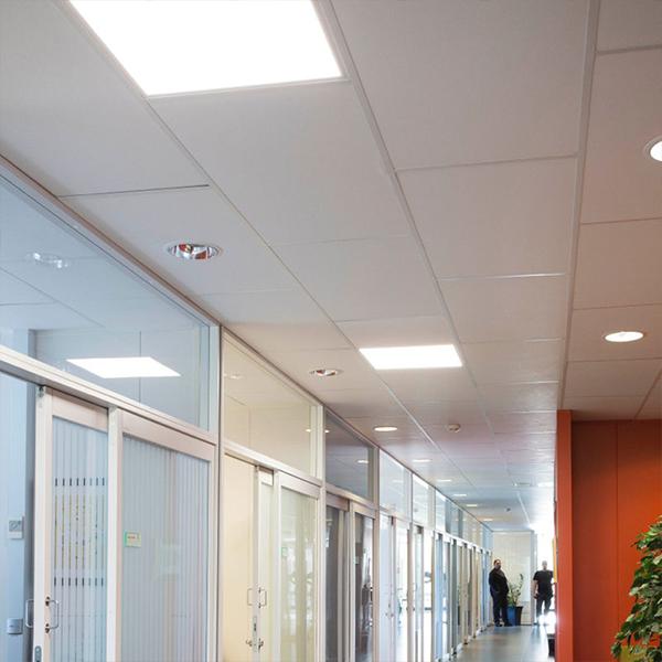 Kontorsbelysning LED plattor