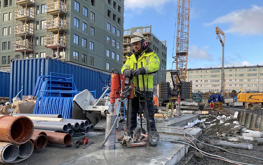 Anlita oss för betonghåltagning i Västra Götaland
