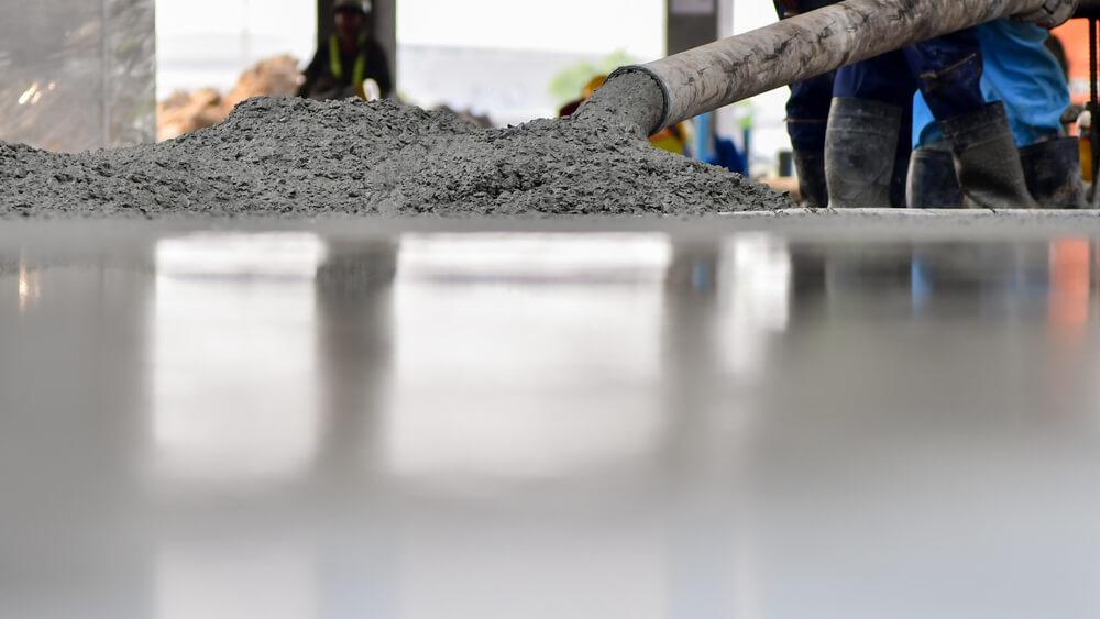 lägga betonggolv