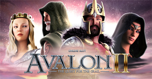 Avalon II Quest for the Grail slot