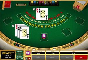 Betway Online Blackjack
