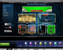 Betway Casino Console