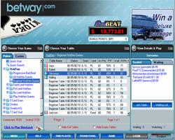 Betway Poker