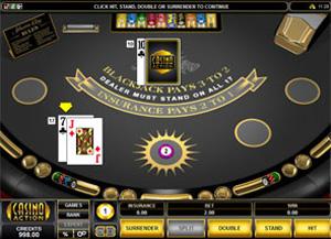 Casino Action Blackjack