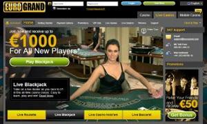EuroGrand Live Dealer Blackjack
