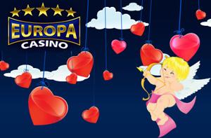 Europa Casino Valentine's Day Promotion