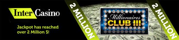 InterCasino's 2 Million jackpot