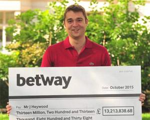 Jon Heywood - Mega Moolah Jackpot Winner