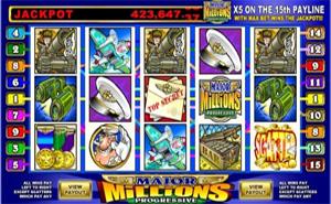 Major Millions Progressive Jackpot Slot